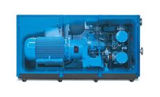 Compresores de tornillo de compresión exenta de aceite